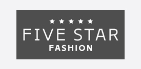 five star fashion logo