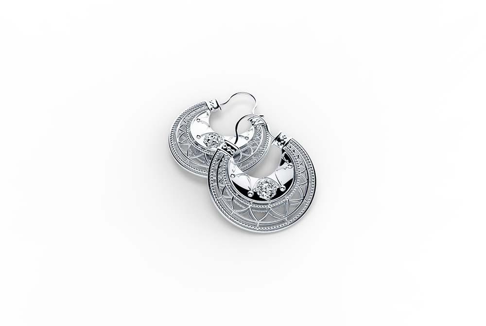 Zlatarne Zaks_Dalmatinke, srebrne nausnice, s popustom 930 kn