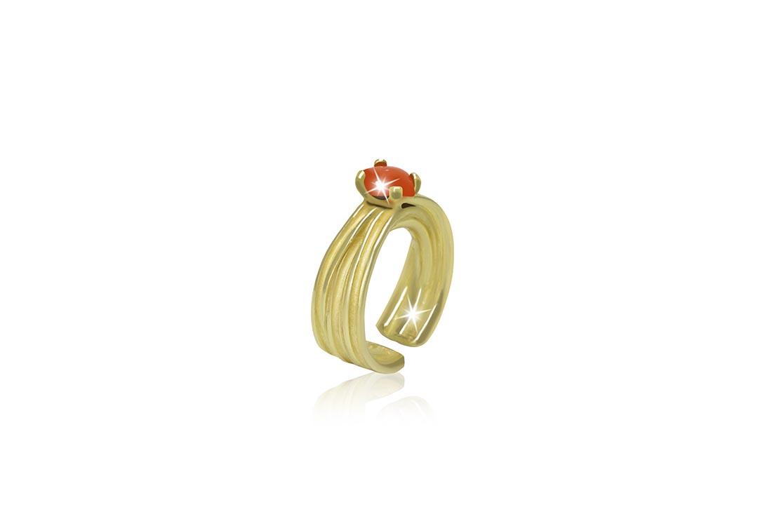 11. Srebrni prsten sa žutom pozlatom, 588 kn, Zaks