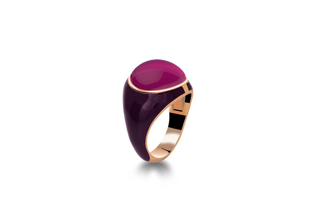 Zaks, srebrni prsten sa crvenom pozlatom, 444 kn,