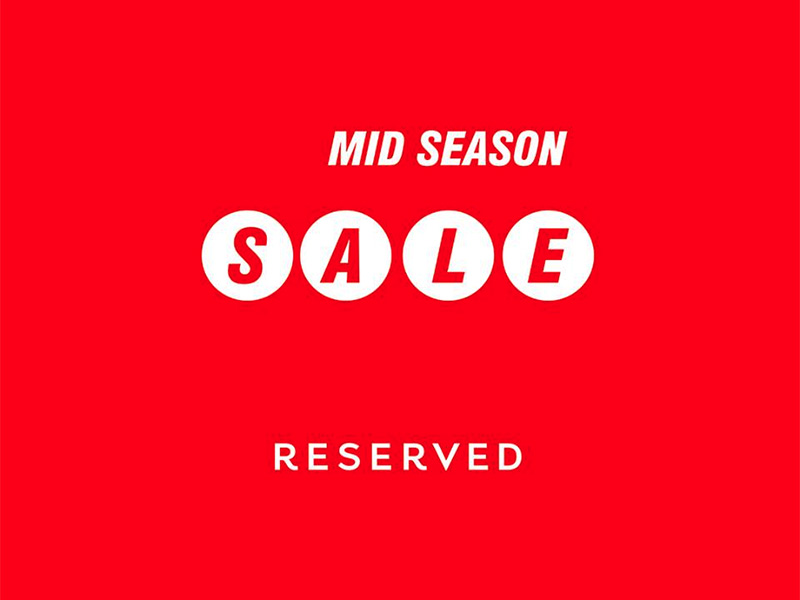 reserved split akcije snizenja popusti mid season sale