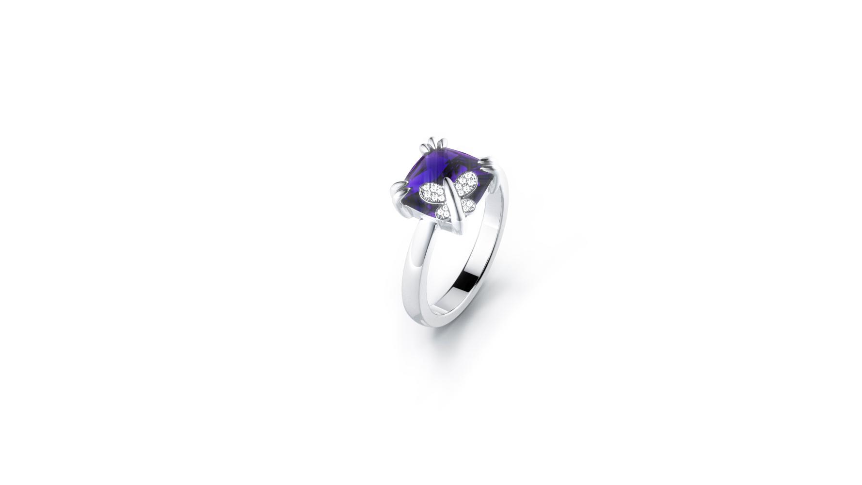 Zlatni prsten s briljantima i ametistom_Zaks_ 4.237,50 kn(2)