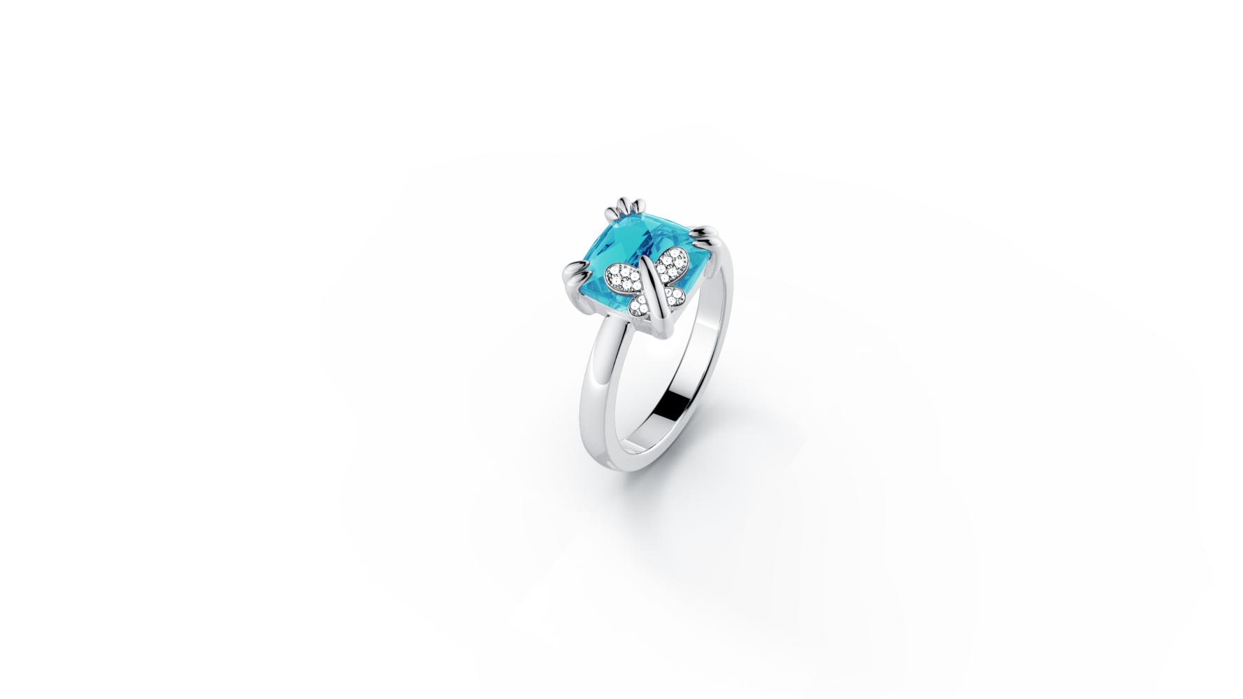 Zlatni prsten s briljantima i topazom_Zaks_ 4.237,50 kn(3)