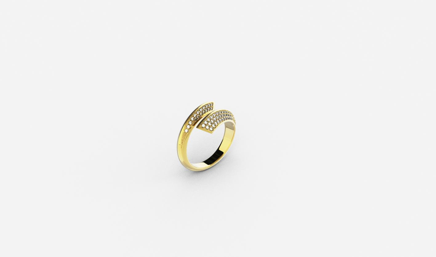 Zlatni prsten, red.cijena 1170kn, sada 760,50kn - ZAKS