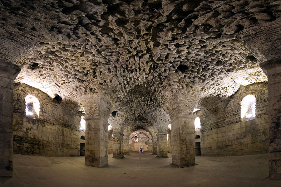 basement_diocletian_palace