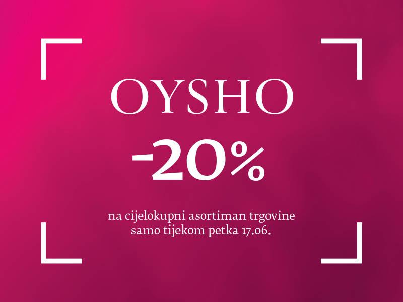 Oysho akcija