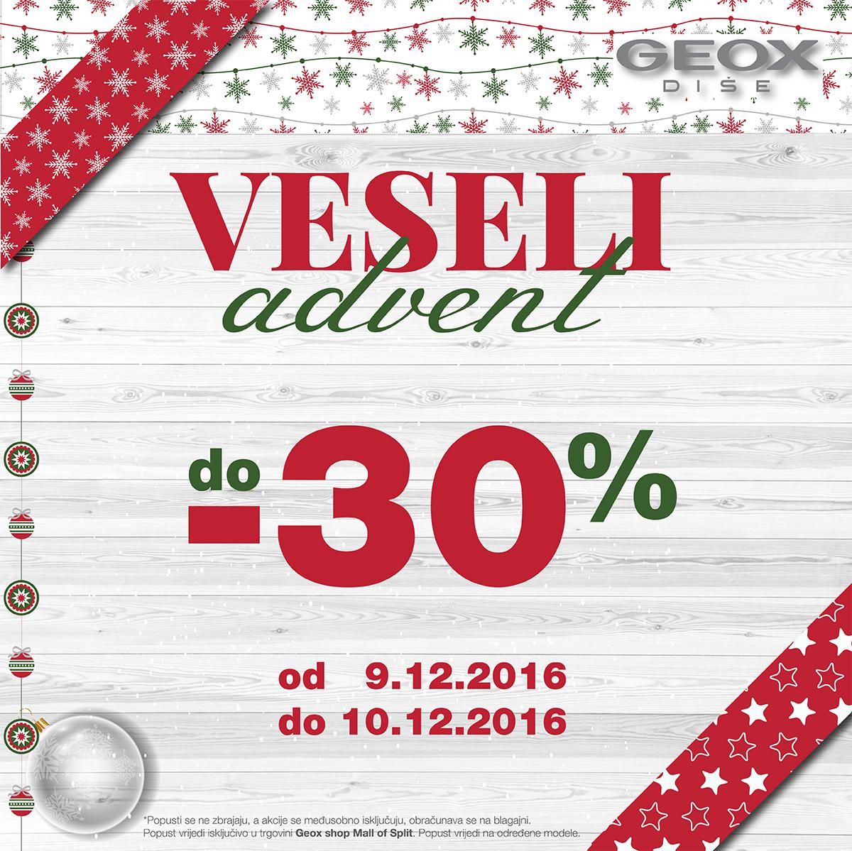 GEOX SPLIT Facebook VESELI ADVENT 9.12