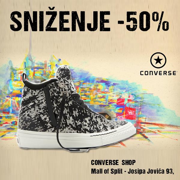 Converse objava sniženje -50%