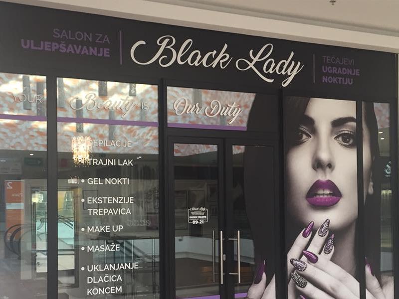black lady split otvaranje