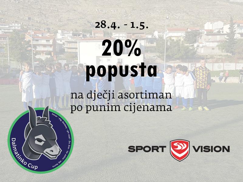sport vision dalmatinko akcije popusti snizenja