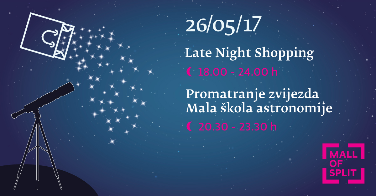 Late Night Shopping Promatranje Zvijezda