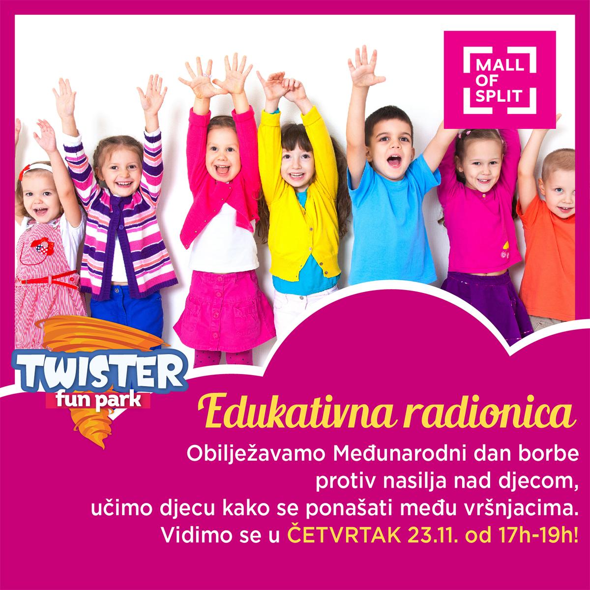 twister split novo edukativna radionica