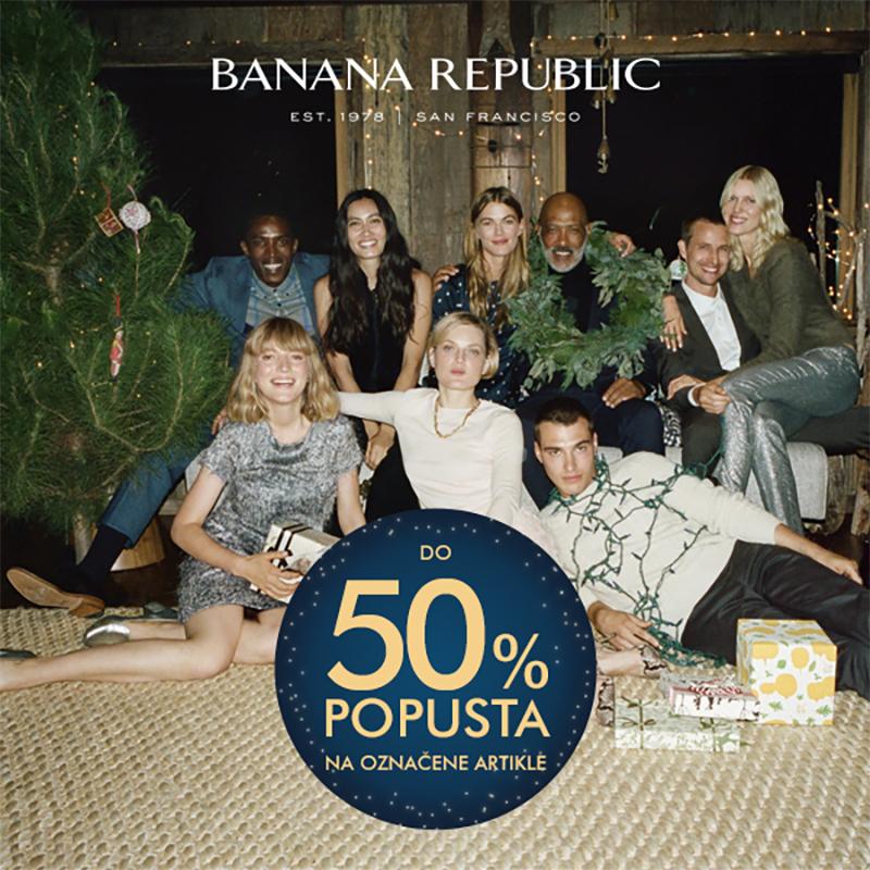 banana republic split akcije snizenja popustio