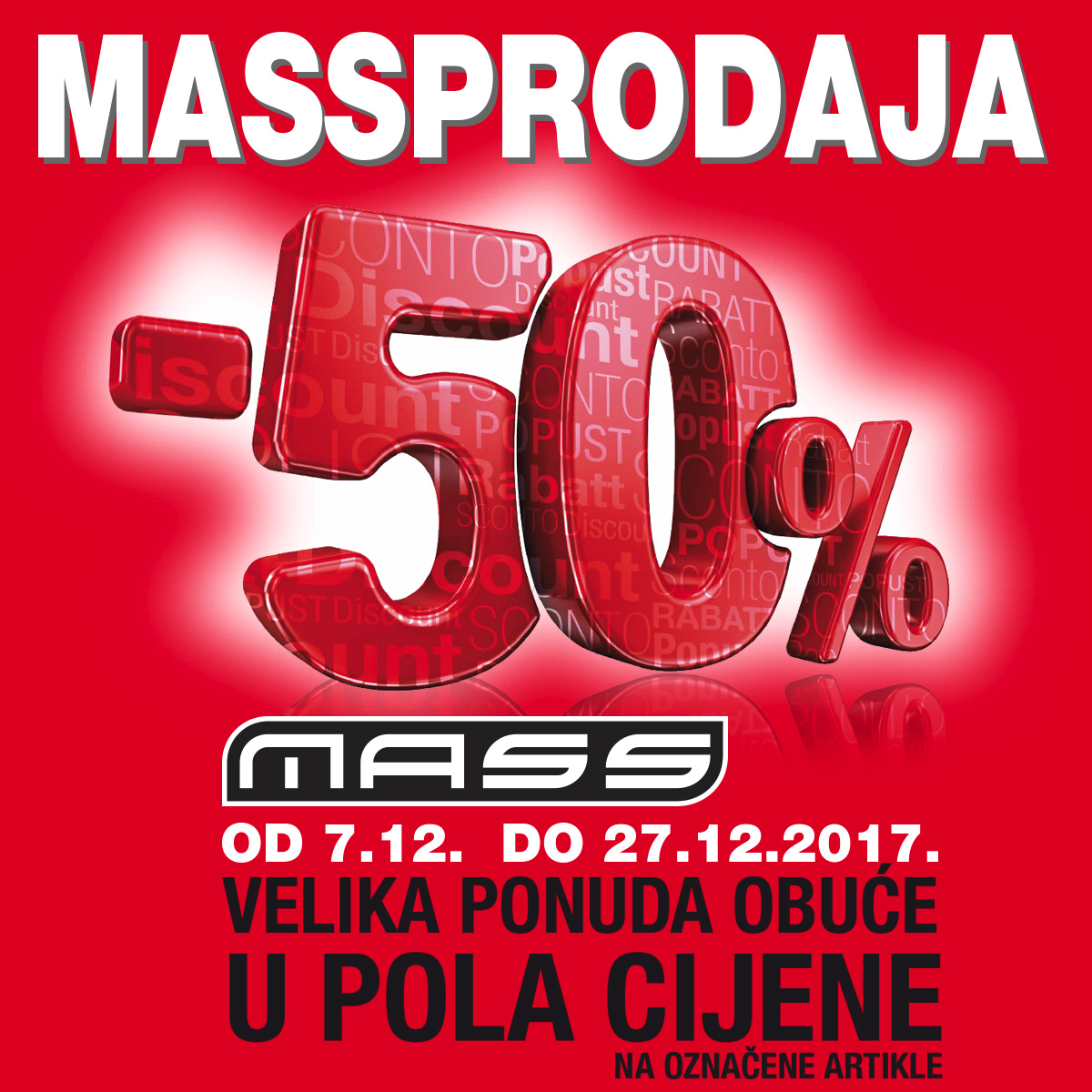 mass split massprodaja akcije popusti