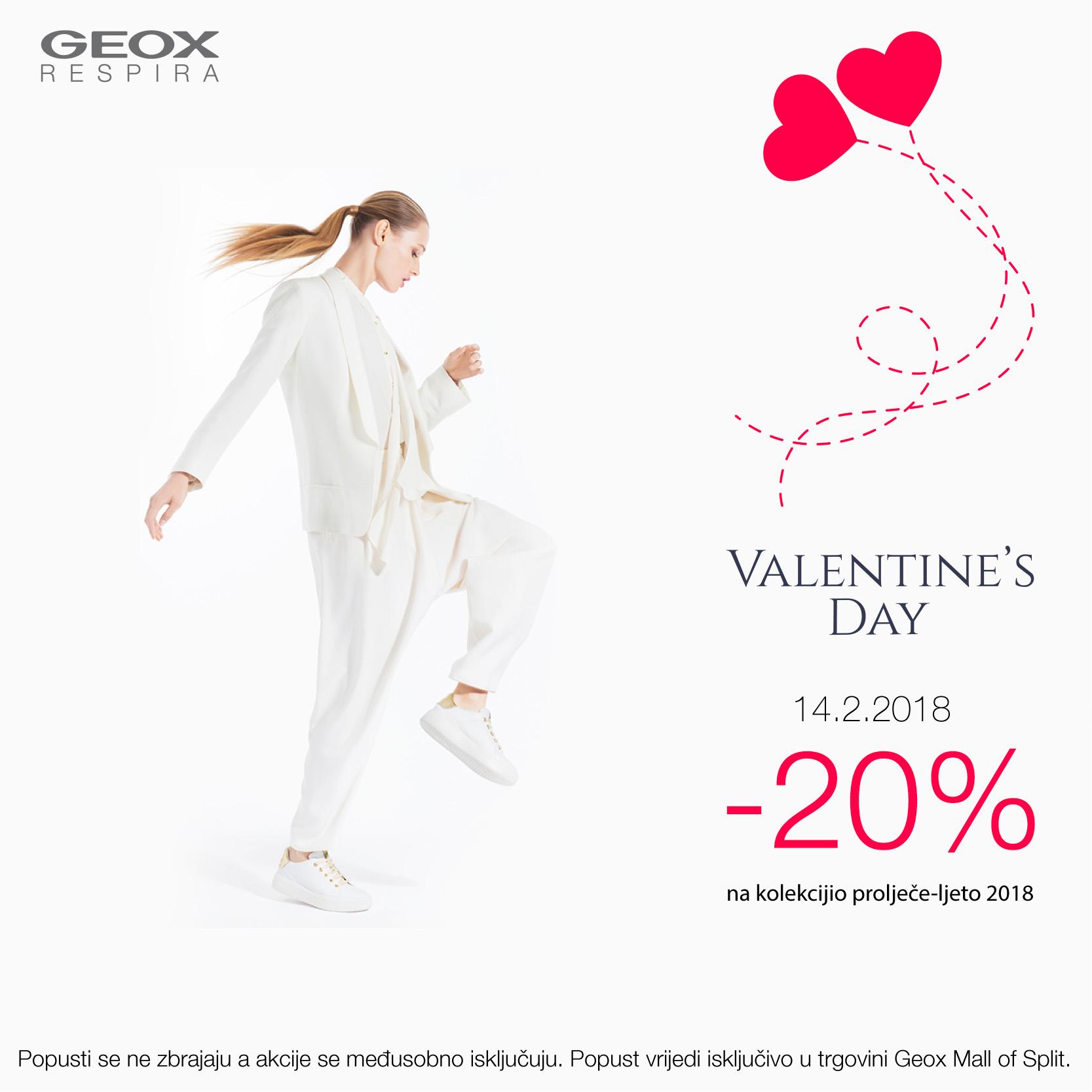 geox valentinovo akcije popust snizenja
