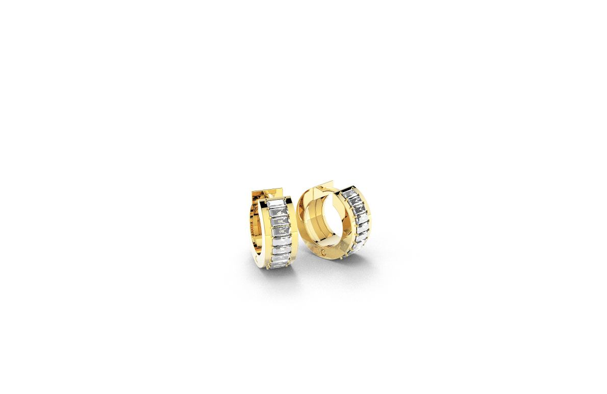 Zlatne nausnice, red.cijena 2115kn, sada 1374,75kn - ZAKS