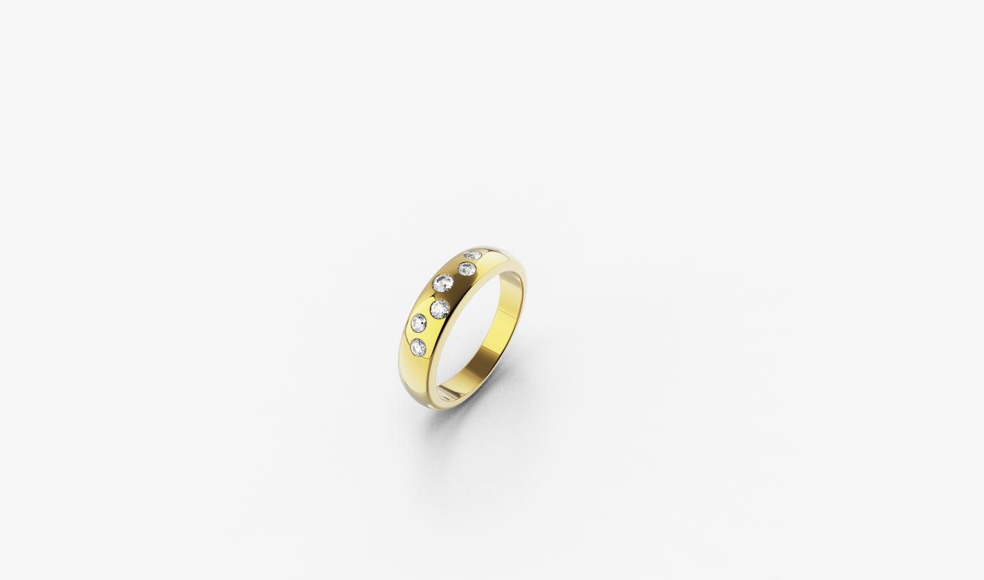 Zlatni prsten, red.cijena 1035kn, sada 848,25kn - ZAKS