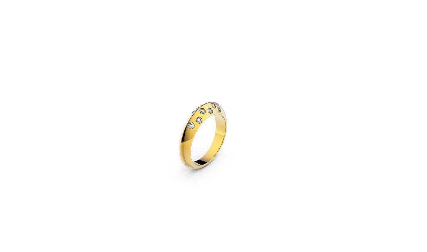 Zlatni prsten, red.cijena 1215kn, sada 789,75kn - ZAKS