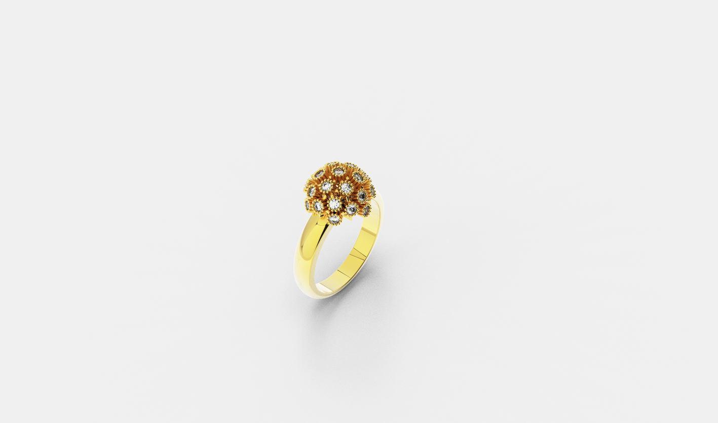 Zlatni prsten, red.cijena 1665kn, sada 1082,25kn - ZAKS