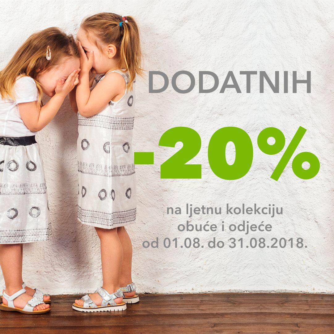 -20% dodatnih kolovoz