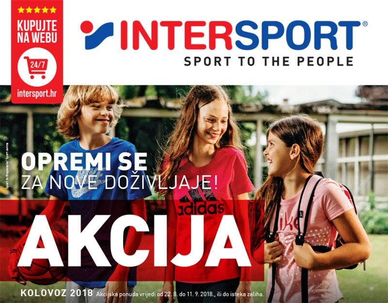 intersport split akcije popusti kolovoz katalog