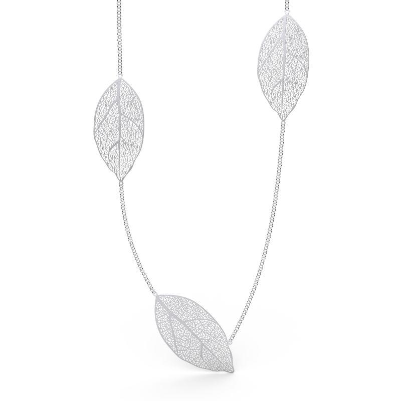 Srebrna ogrlica s listovima_1450kn_Argentum