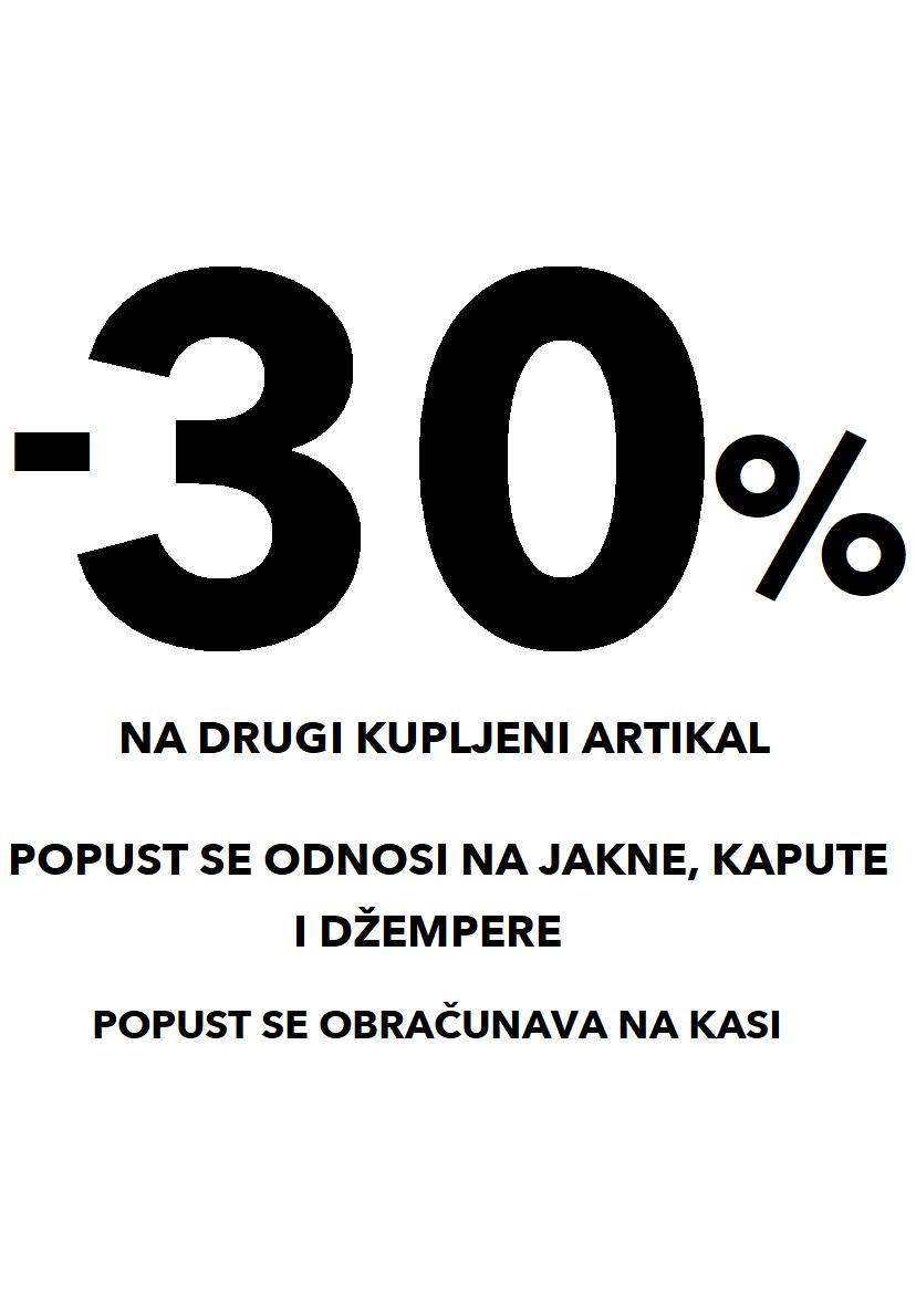 -30% na đžempere