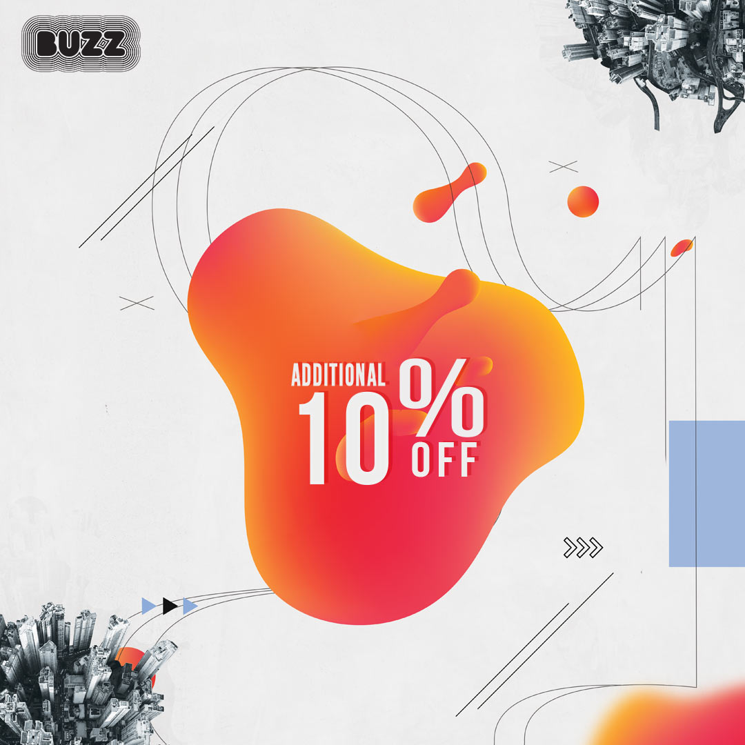 BUZZ_dodatnih_10_posto_popusta