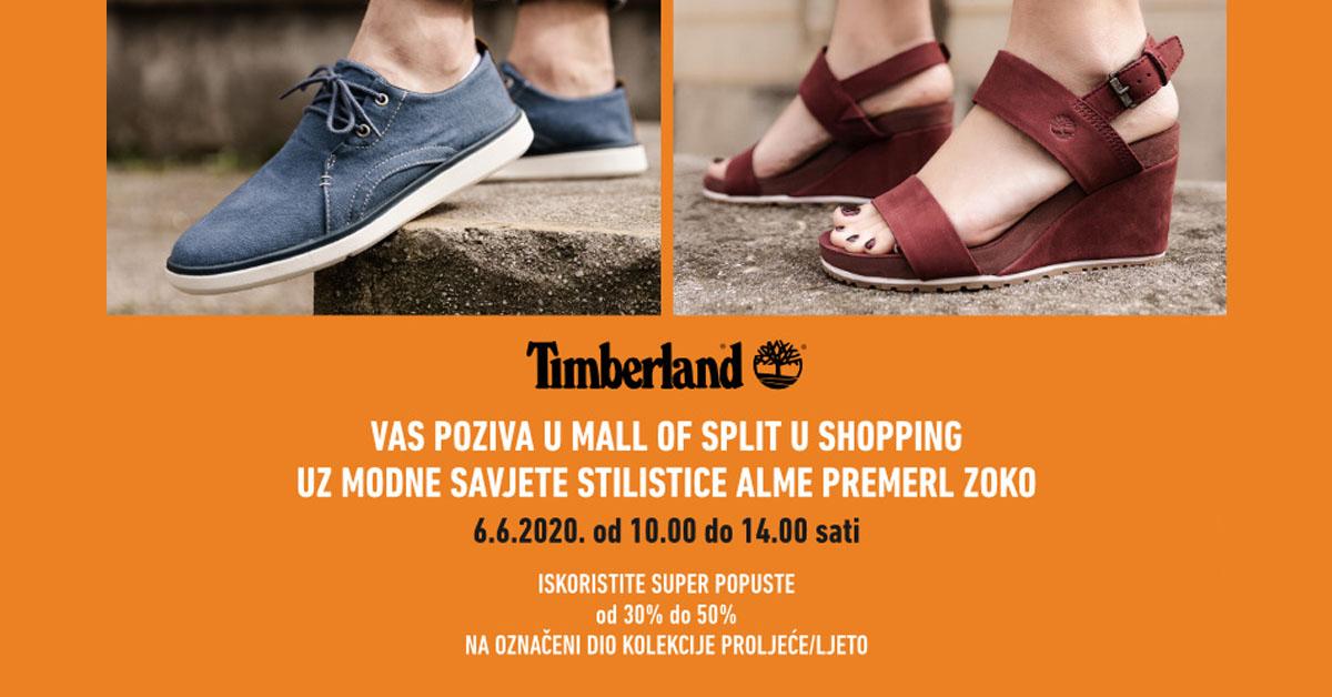 Timberland Mall of Split Alma Premerl Zoko objava