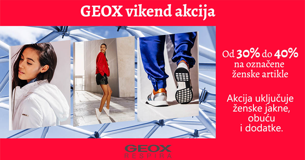 geox vikend akcija mall split objava
