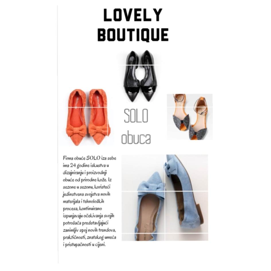 lovely boutique cipele