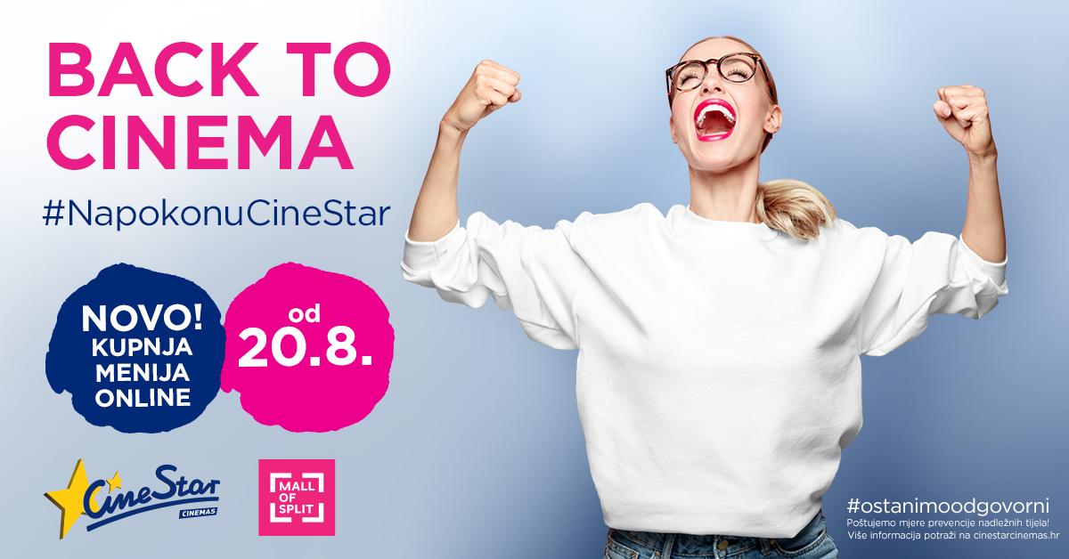 Ponovo otvorenje CineStar - Mall of Split