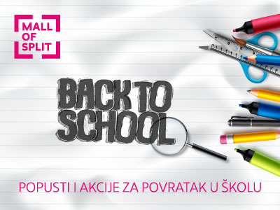 Mall of Split Back to School 2020