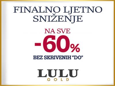 LULU GOLD - Finalno snizenje - Mall of Split