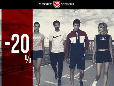 Sport Vision - Akcija 20% - Mall of Split