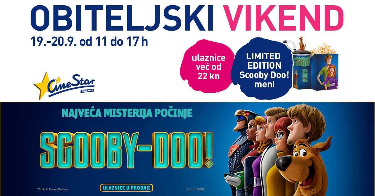 Obiteljski vikend - Cinestar - Mall of Split