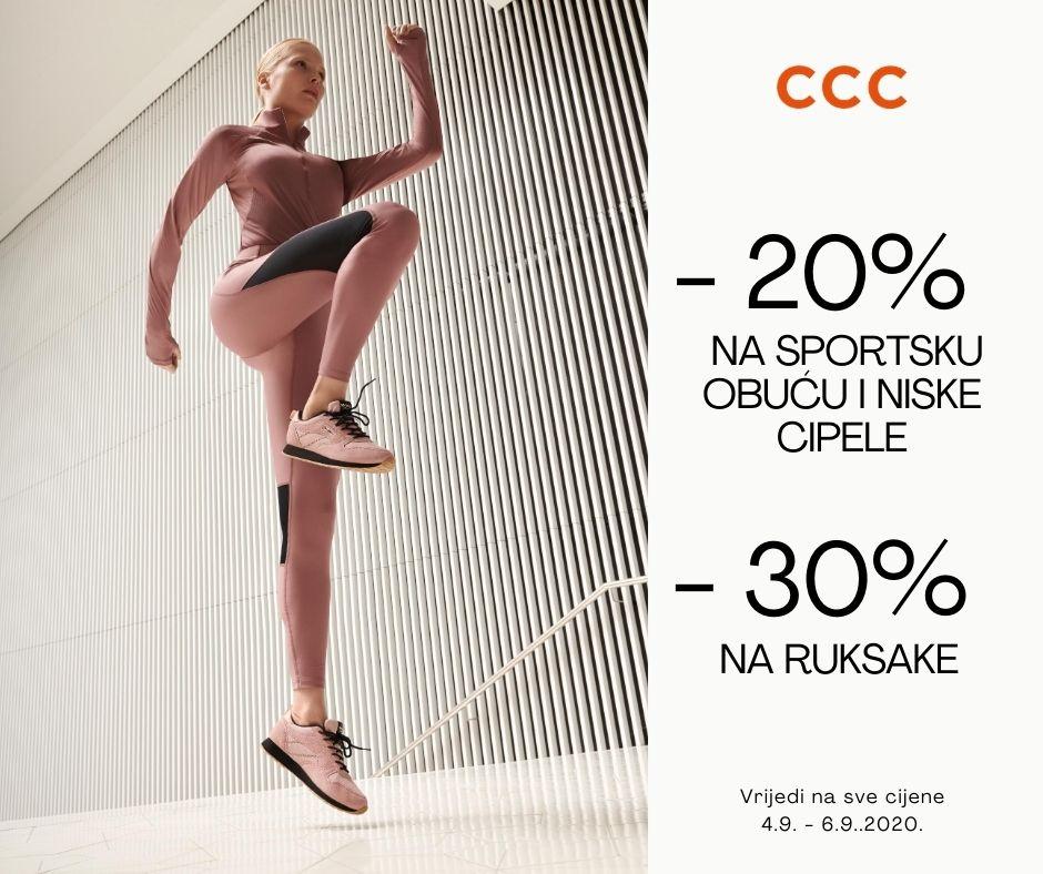 CCC Sportska obuca 4-6.9.