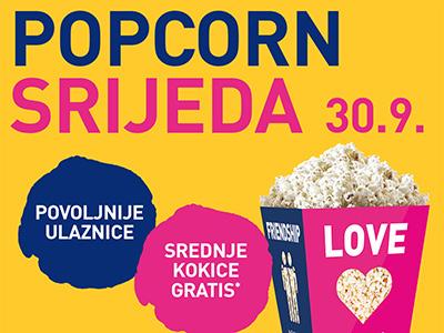 Cinestar - Popcorn srijeda