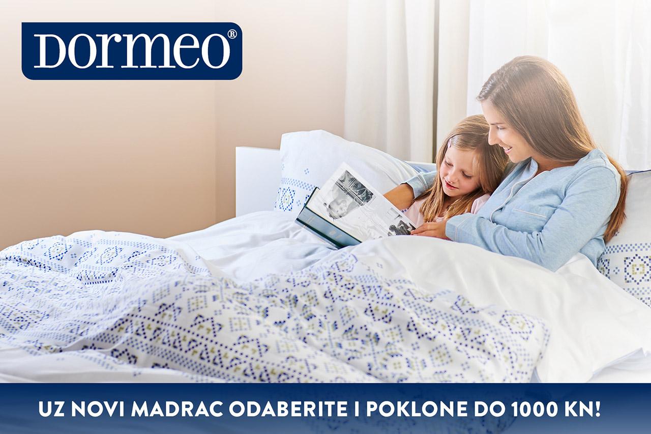 Dormeo - Poklon uz kupnju madraca - Mall of Split