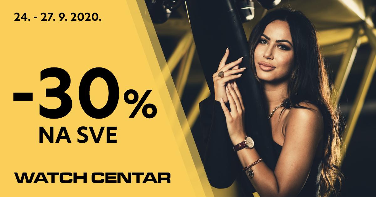 Watch center - 30% na sve - Mall of Split