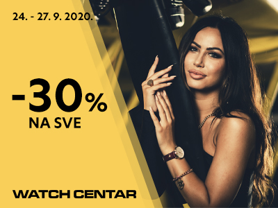 Watch center - 30% na sve - Mall of Split