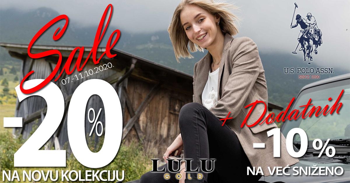 Lulu Gold - 20% popusta - Mall of Split