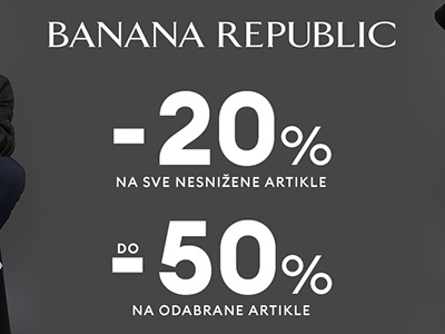 Banana Republic - popusti - Mall of Split