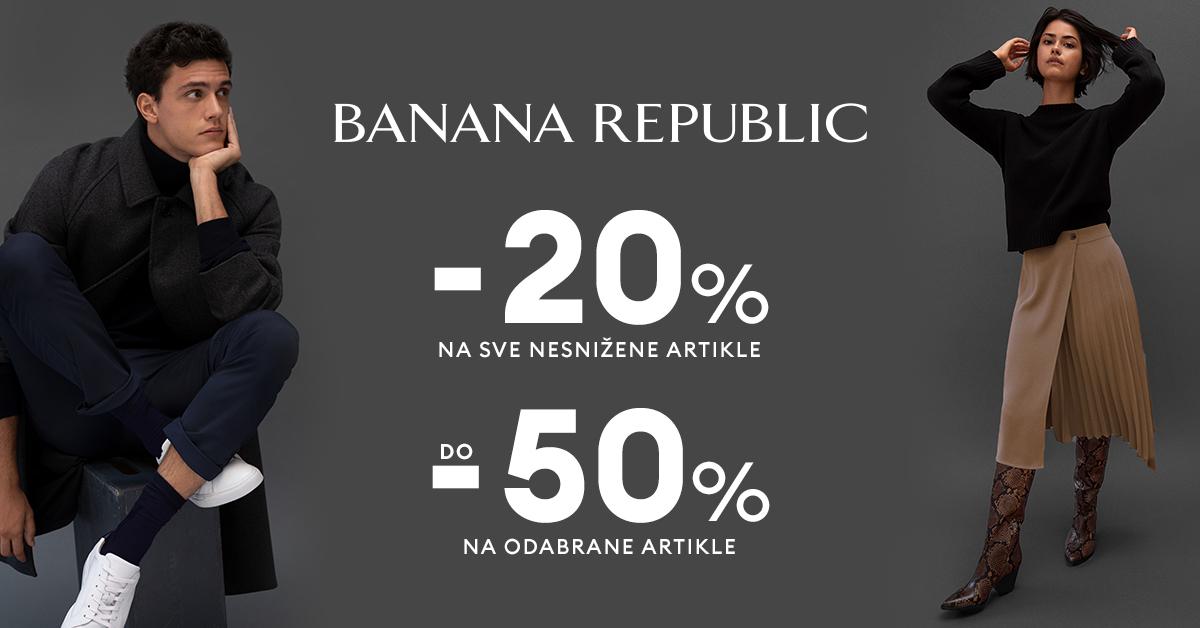 Banana Republic - popusti - Mall of Split