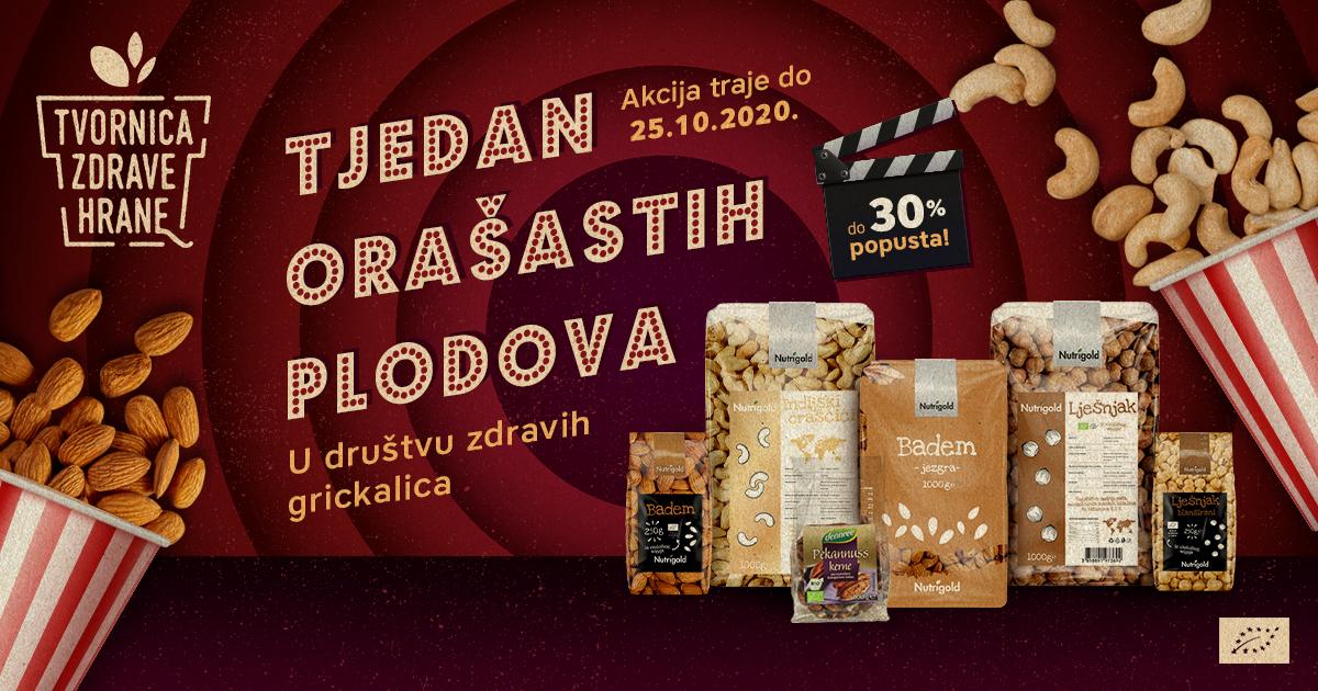 Tjedan orašastih proizvoda - Mall of Split