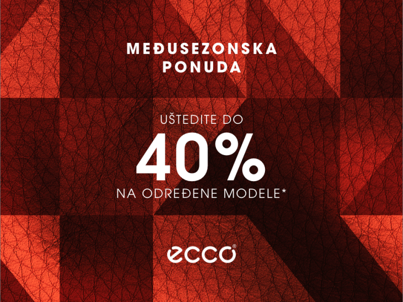 Ecco - Mid Season Sale - Mall of Split