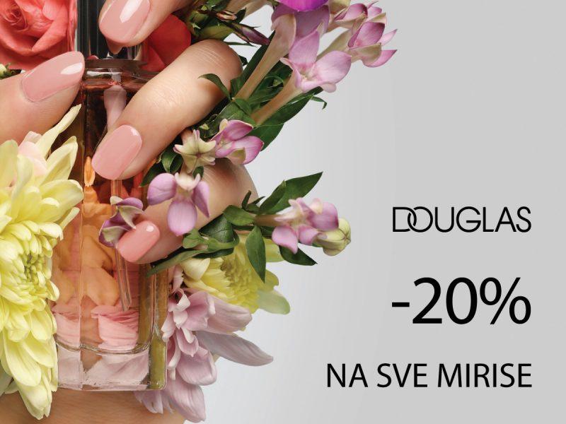 Popust na mirise - Douglas - Mall of Split