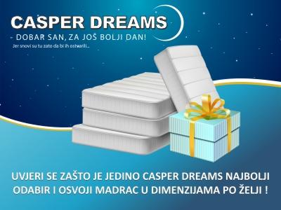 Casper Dreams - Nagradna igra - Mall of Split
