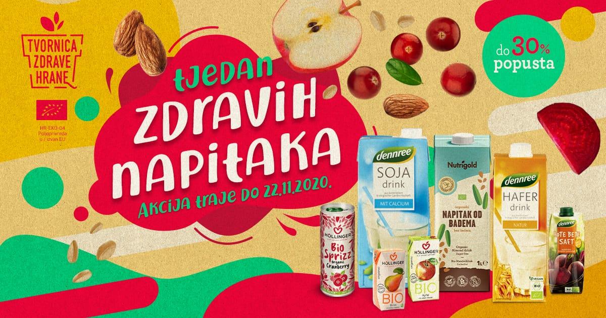 Tjedan zdravih napitaka - Mall of Split