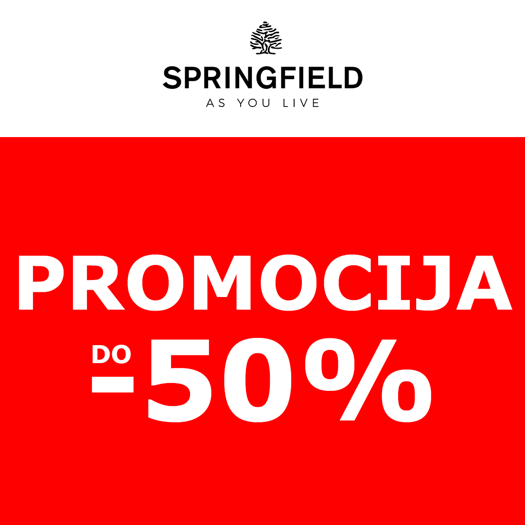 SPRINGFIELD BALCANES_REBAJAS POST_CRO_PROMOCIJA 50